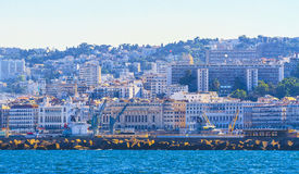 Algiers. View of Algiers, the capital city of Algeria royalty free stock photo