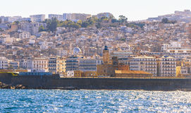 Algiers. View of Algiers, the capital city of Algeria stock photos