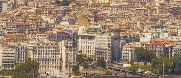 Algiers. View of Algiers, the capital city of Algeria royalty free stock photography