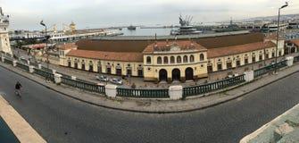 Algierski Krajowy społeczeństwo Kolejowy transport Środkowy dworzec Algier SNTF swój Fotografia Royalty Free
