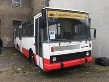 Algo del autobús Imagenes de archivo