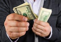 Algo del dinero Imagen de archivo libre de regalías