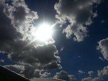 Algo en el cielo Fotos de archivo