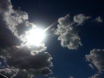 Algo en el cielo Imágenes de archivo libres de regalías