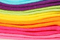 Algodão colorido Fotografia de Stock