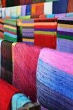 Algodón colorido Imagen de archivo