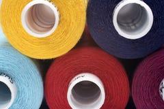 Algodón del color Imagenes de archivo