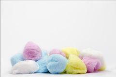 Algodón del color Imagen de archivo libre de regalías