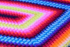 Algodón tejido mano colorida Foto de archivo