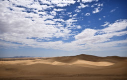 Algodones Sand Dunes, California. The Algodones Dunes, also known as the Imperial Sand Dunes, in the BLM  Recreation and Wilderness Area, of Southern California Royalty Free Stock Photos
