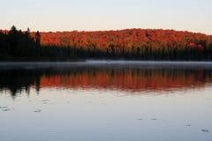 algonquin αυγή Στοκ Φωτογραφία
