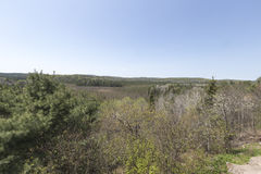 Algonquin πάρκο, Οντάριο - Καναδάς την άνοιξη Στοκ φωτογραφία με δικαίωμα ελεύθερης χρήσης