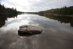 Algonquin πάρκο Muskoka Οντάριο Στοκ Φωτογραφίες