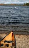 Algonquin Canoeing stockbilder