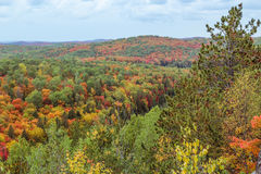 Algonquin National Park during autumn Stock Photo