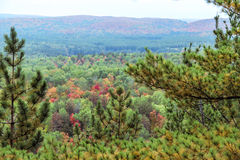 Algonquin National Park during autumn Stock Photos