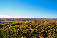 Algonquin park in autumn 2 Royalty Free Stock Photo
