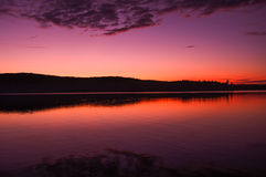 Algonquin Park Sunset Stock Image