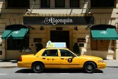 Algonquinhotell, Manhattan, New York City Arkivfoto