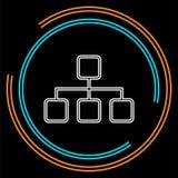 Algorithm icon. element illustration. royalty free illustration