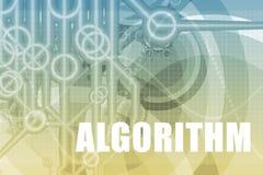 Algorithmus-Auszug lizenzfreie abbildung