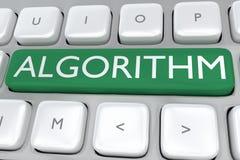Algorithmus - mathematisches Konzept lizenzfreie abbildung