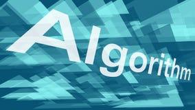 Algoritmo del software, forme del triangolo di presentazione, caos astratto dei triangoli di vettore illustrazione vettoriale