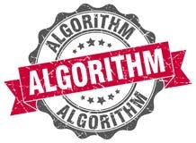 algoritmskyddsremsa stämpel stock illustrationer