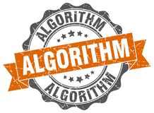 algorytm foka znaczek royalty ilustracja