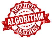 algorytm foka znaczek ilustracja wektor