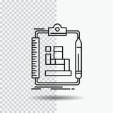 Algorytm, proces, plan, praca, obieg Kreskowa ikona na Przejrzystym tle Czarna ikona wektoru ilustracja ilustracji