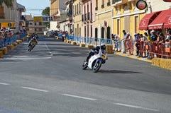 Algueña Motorcycle Race Stock Image