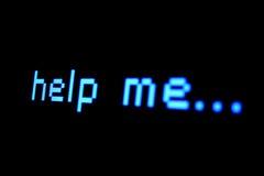 Alguien, por favor? Fotografía de archivo libre de regalías