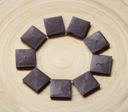 Algum bombom do chocolate fotos de stock