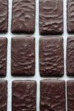 Algum bombom do chocolate fotografia de stock