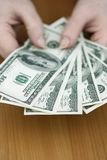 Algum dinheiro Fotos de Stock