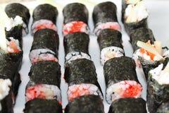 Algum sushi Fotografia de Stock Royalty Free