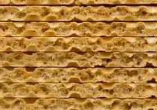 Algum tiro do close up do pão estaladiço do trigo Fotos de Stock Royalty Free