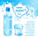 Alguma água? Fotografia de Stock Royalty Free
