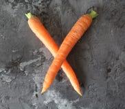 Alguma cenoura fresca Foto de Stock