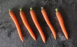Alguma cenoura fresca Foto de Stock Royalty Free