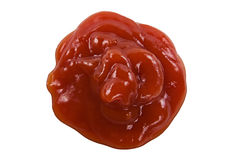 Alguma ketchup Imagem de Stock