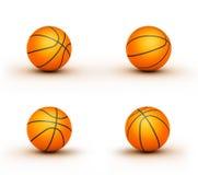 Algumas esferas do basquetebol Ilustração do Vetor