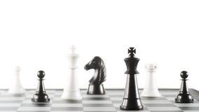 Algumas partes de xadrez Fotografia de Stock Royalty Free