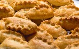 Algumas tortas frescas pequenas Imagem de Stock