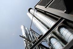 Condicionamento de ar industrial Fotografia de Stock Royalty Free