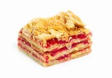 Algunas clases de tortas y de galletas Imagen de archivo