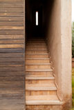 Algunas escaleras imagen de archivo