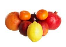 Algunas frutas Imagen de archivo libre de regalías