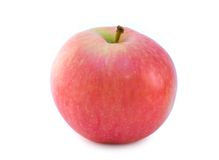 Algunas manzanas jugosas maduras Fotos de archivo